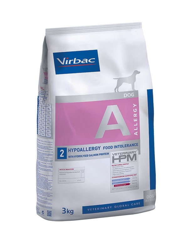 Virbac Veterinary HPM Dog Hypoallergy with Salmon Alimento Seco Cão
