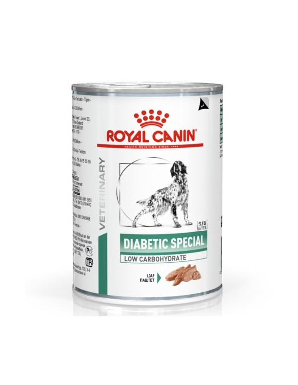 Royal Canin VD Diabetic Special Low Carbohydrate Alimento Húmido Cão