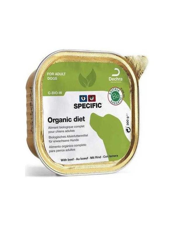 Specific C-Bio-W Vaca Alimento Humido Cão