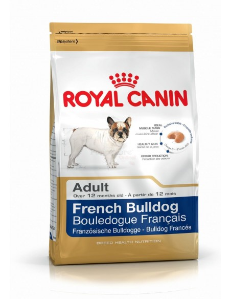 Royal Canin Breed Health Nutrition Bulldog Francês Adult Alimento Seco Cão