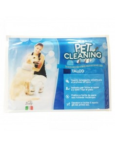 "Luva Humida ""PET CLEANING"" Talco"
