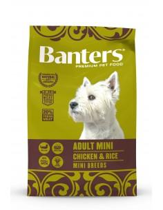 Banters Adulto Mini Alimento Seco Cão