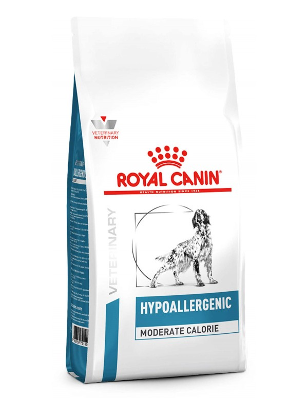 Royal Canin VD Hypoallergenic Moderate Calorie Alimento Seco Cão