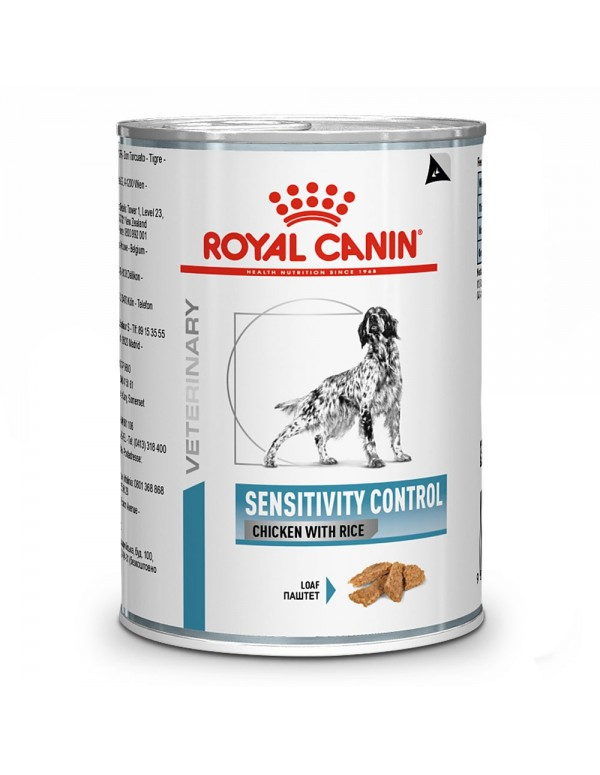 Royal Canin VD Sensitivity Control Alimento Húmido Cão