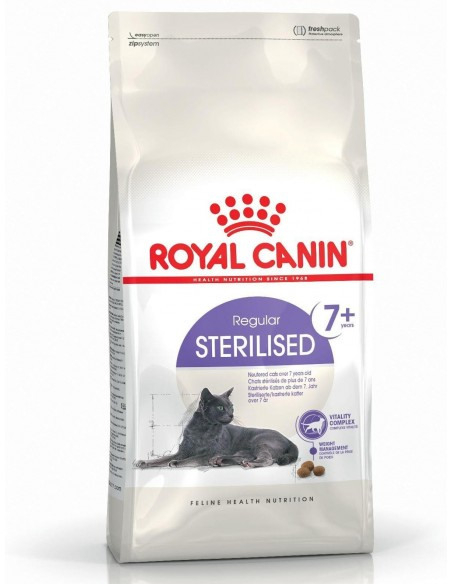 Royal Canin Feline Health Nutrition Sterilised 7 + Alimento Seco Gato