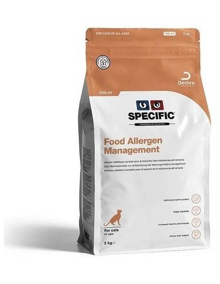 Specific VD FDD-HY Food Allergy Management Alimento Seco Gato