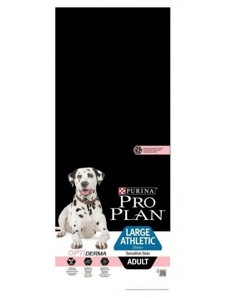 Pro Plan Adult Large Atlético Sensitive Skin Alimento Seco Cão