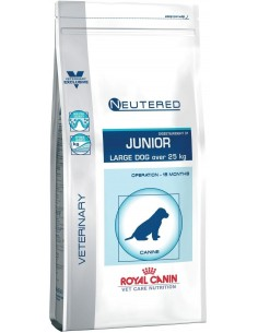 Royal Canin VET CARE NUTRITION NEUTERED JUNIOR LARGE Alimento Seco Cão