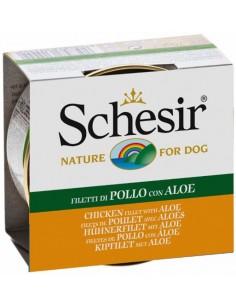 Schesir Nature Frango com Aloe Alimento Humido Cão
