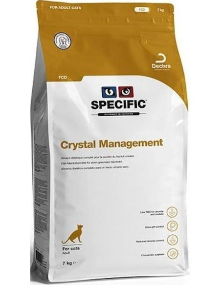 Specific VD FCD Crystal Management Alimento Seco Gato