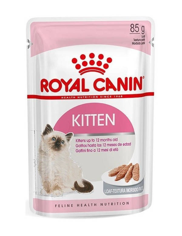 Royal Canin Gato Kitten Instinctive Saquetas (Paté)