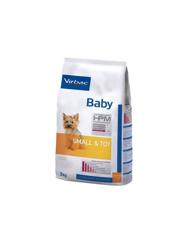 Virbac HPM Baby Dog Small & Toy Alimento Seco Cão