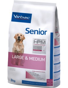 Virbac HPM Senior Dog Large & Medium Alimento Seco Cão
