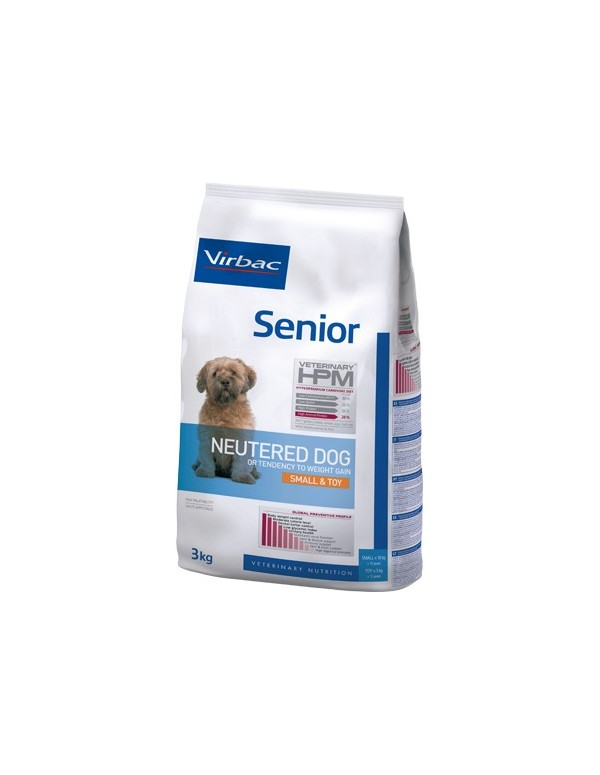 Virbac HPM Senior Neutered Dog Small & Toy Alimento Seco Cão