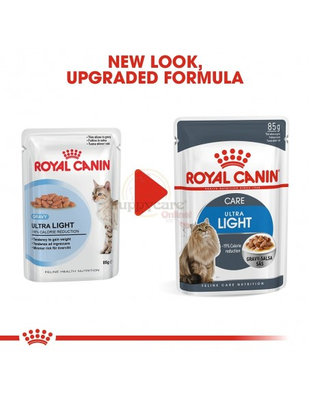 Royal Canin Ultra Light Alimento Húmido Gato Saquetas (Molho)