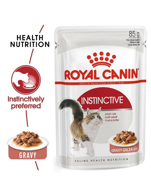 Royal Canin Instinctive Alimento Húmido Gato Saquetas (Molho)