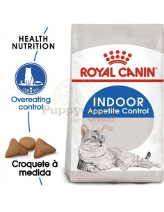 Royal Canin FHN Indoor Appetit Control Alimento Seco Gato